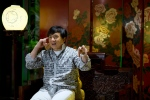 Action star Jackie Chan speaks during an interview in Beijing, Monday, Aug. 3, 2015. (AP /Ng Han Guan)