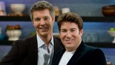 Steven Sabados, left, and Chris Hyndman