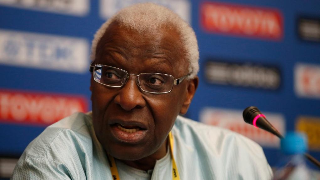 Lamine Diack president of IAAF