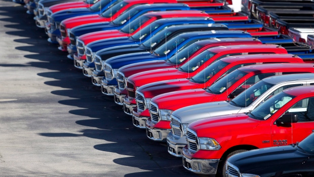 Fiat Chrysler pickup truck sales are up