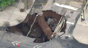 CTV News Channel: Massive sinkhole in Brooklyn