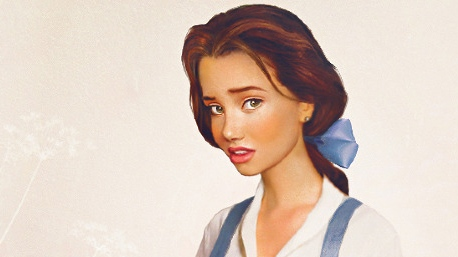 Finnish artist Jirka Vaatainen interprets what he believes Disney characters would look like as real people in his illustrations.