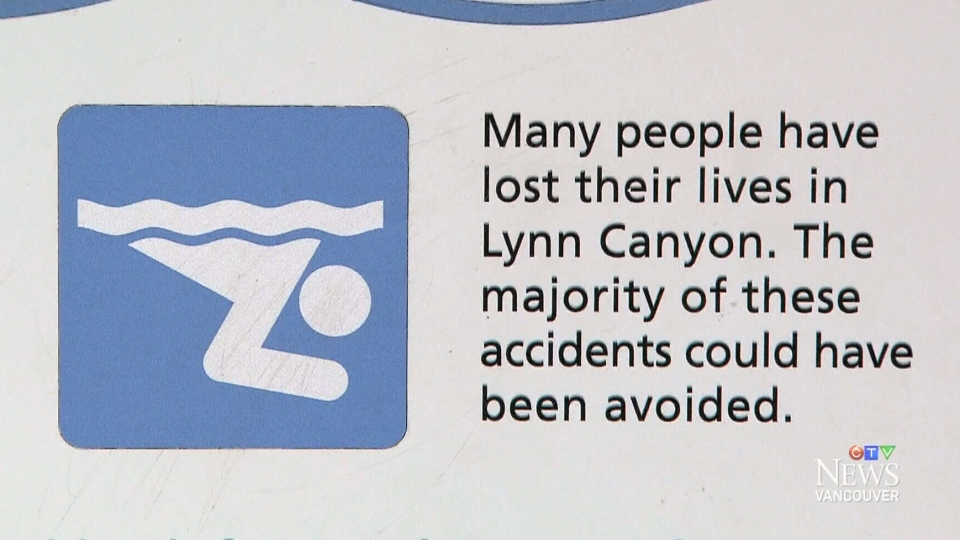 Many visitors to the canyon ignore the warning signs.