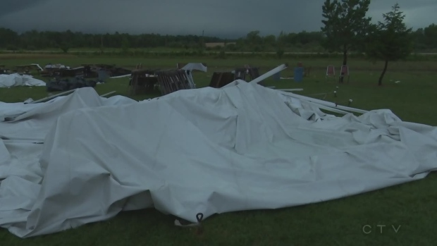 Ministry of Labour notified after nine people injured in tent collapse during severe storm : tent ministry - memphite.com
