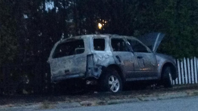 Arsonist Accidentally Lights Himself And Suv On Fire Ctv