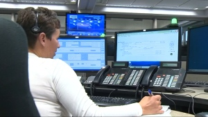 A 911 operator is shown in this undated file photo.