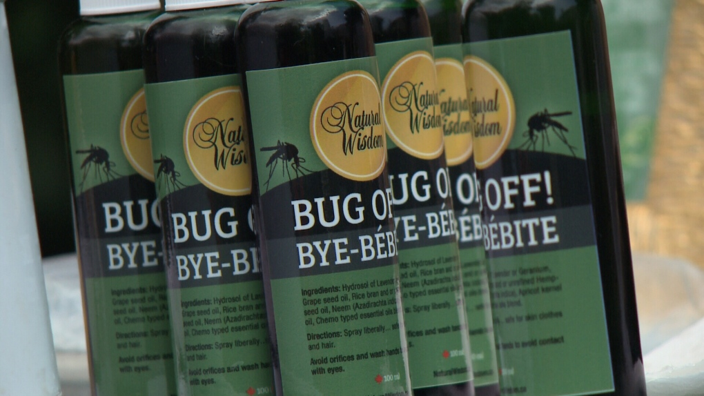 Ottawa woman fined for selling ''natural'' bug spray   CTV