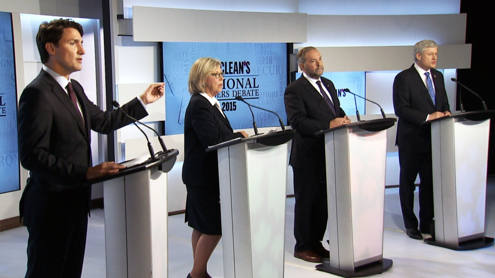 Federal leaders debate first in Toronto highlights