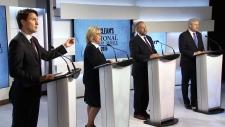 Federal leaders debate first in Toronto highlights