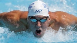 Michael Phelps competes in the preliminary round of the men's 200 meter butterfly at the U.S. swimming nationals, Friday, Aug. 7, 2015, in San Antonio. (Eric Gay/AP Photo)
