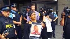Protesters demand inquest into death of Somali man