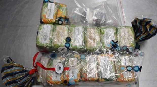 Cocaine seized by Australian police