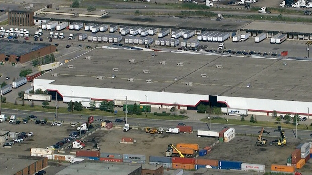 Kraft warehouse in Mississauga