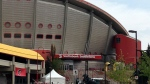 The Saddledome opened to the public on October 15, 1983.
