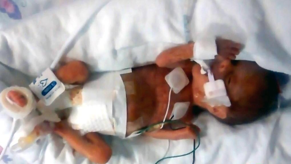 Mary Jane Pierce is seen in hospital