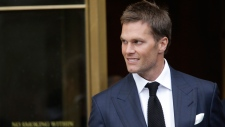 Tom Brady leaves federal court in New York