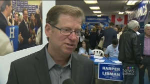 CTV Montreal: Libman opens campaign office
