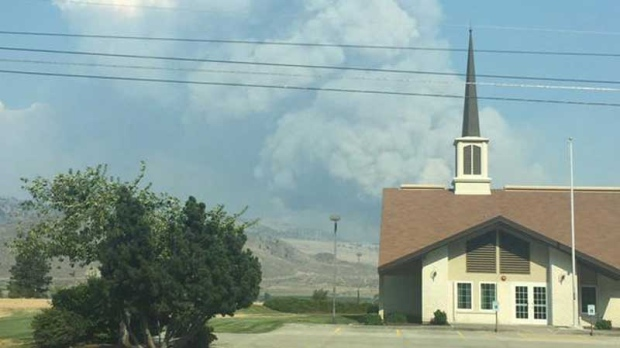 B c wildfire grows to 25 square kilometres ctv news for Landscaping rocks windsor ontario
