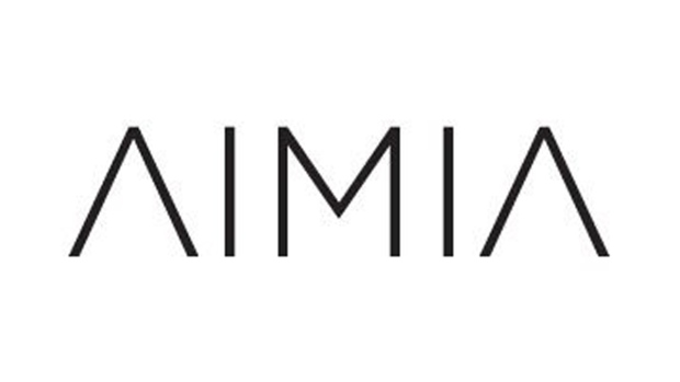 The corporate logo of Aimia, formerly Groupe Aeroplan. (THE CANADIAN PRESS)