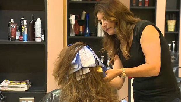 Reflection Hair Salon and Spa owner Donia Tarrabain said she and her staff have now been trained in recognizing the signs and the risks of domestic violence.