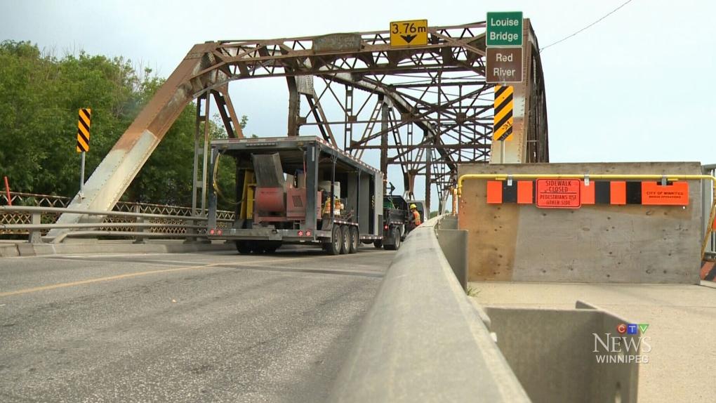 CTV Winnipeg: Louise Bridge closed