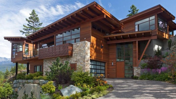 Located in Whistler, B.C. and overlooking Alta Lake, this contemporary Lakecrest mountain estate is set atop the highest point in the development and features unobstructed views from every room. Looking for a luxury getaway? This 5,000-square-foot, 5-bedroom, 4.5-bathroom home could be yours for $6.495-million. (John Ryan PREC/realestateinwhistler.com).
