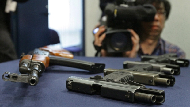 Regulations on criminal guns delayed