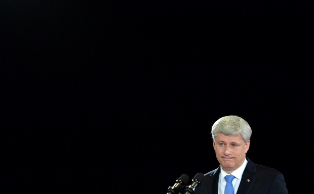 Stephen Harper under fire on trail due to Duffy