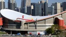 Saddledome Arena in Calgary