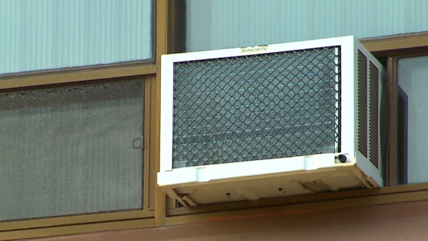 A window air conditioning unit is seen in this undated file photo. (File)