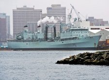 Canadian Navy supply ship