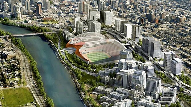 Proposed vision of CalgaryNEXT. (Twitter: @Calgary NEXT)