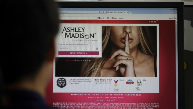 Ashley Madison database leaked