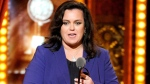 Rosie O'Donnell accepts the Isabelle Stevenson Award on stage at the 68th annual Tony Awards at Radio City Music Hall on Sunday, June 8, 2014, in New York. (Evan Agostini/Invision/AP)