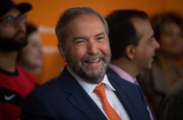 NDP Leader Tom Mulcair - Aug. 19