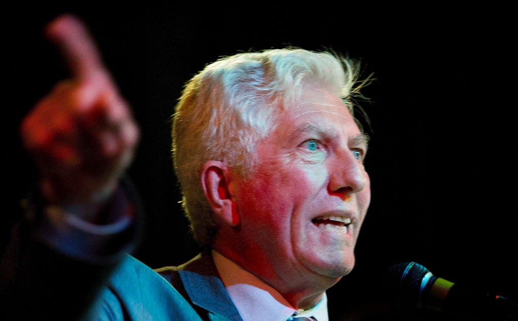 Gilles Duceppe in Montreal
