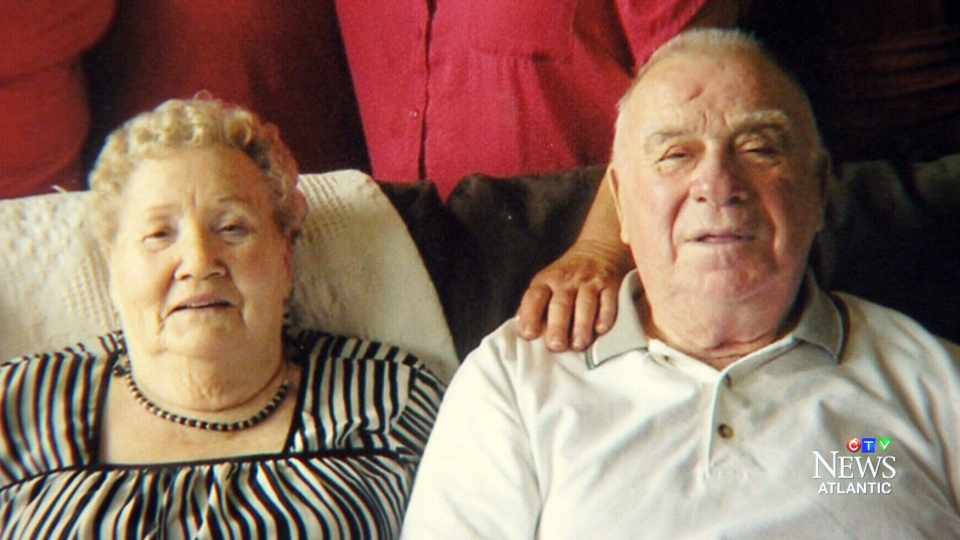 Edgar and Theresa MacPhee have been married for 62 years but are currently living in separate care facilities.