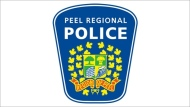 The Peel Regional Police logo is seen in this file photo.