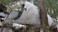 Carson Air Swearingen Merlin III wreckage