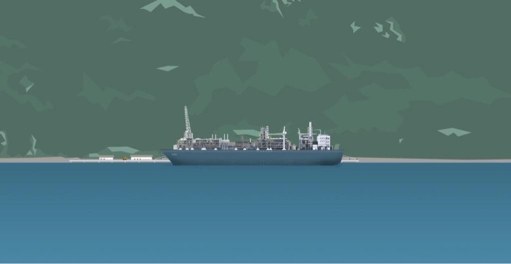 proposed malahat LNG facility