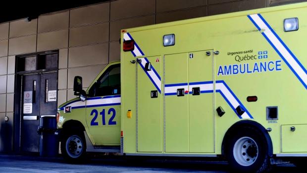 Urgences Sante ambulance