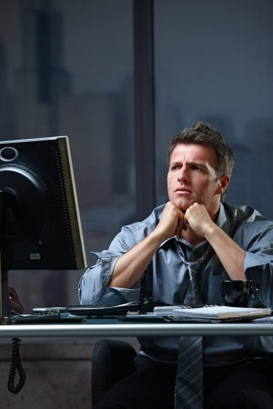 Working 55 hours or more a week increases the risk of having a stroke, a new study shows. (StockLite / Shutterstock)