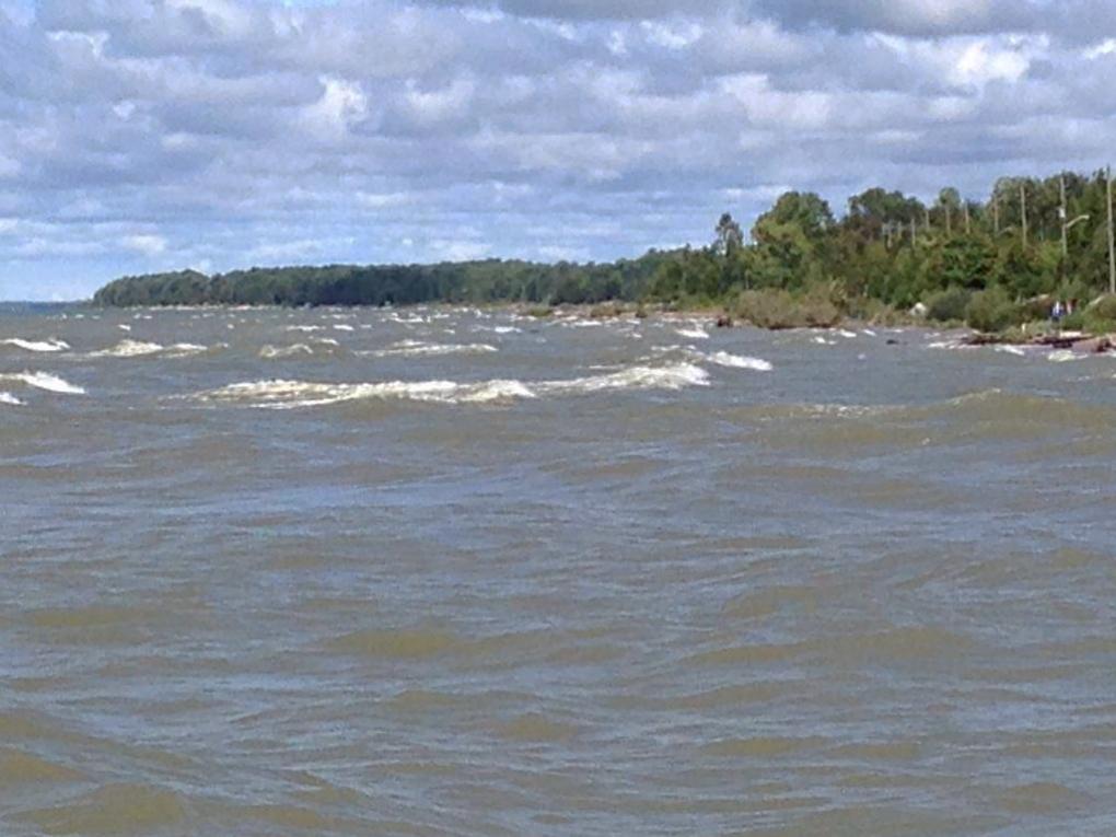 Lake Huron search