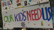 Anonymous rally - Child Protection
