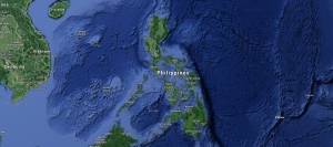 A map of the Philippines is shown in this image taken from Google Maps. (Screengrab / Google Maps)