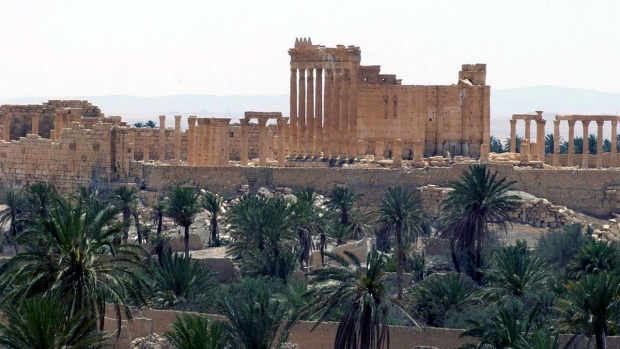 Ancient Roman city of Palmyra