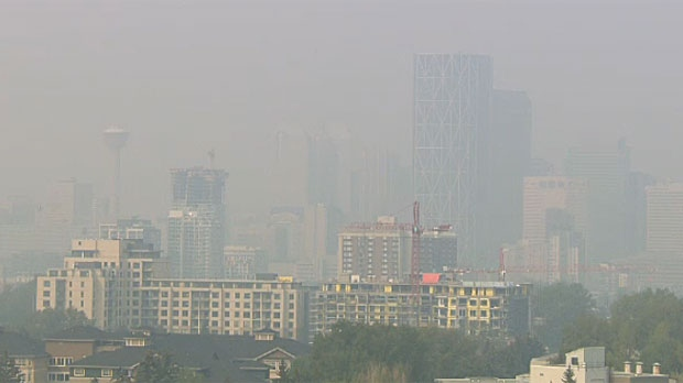 Calgary air quality worse than Shanghai due to wildfire smoke ...