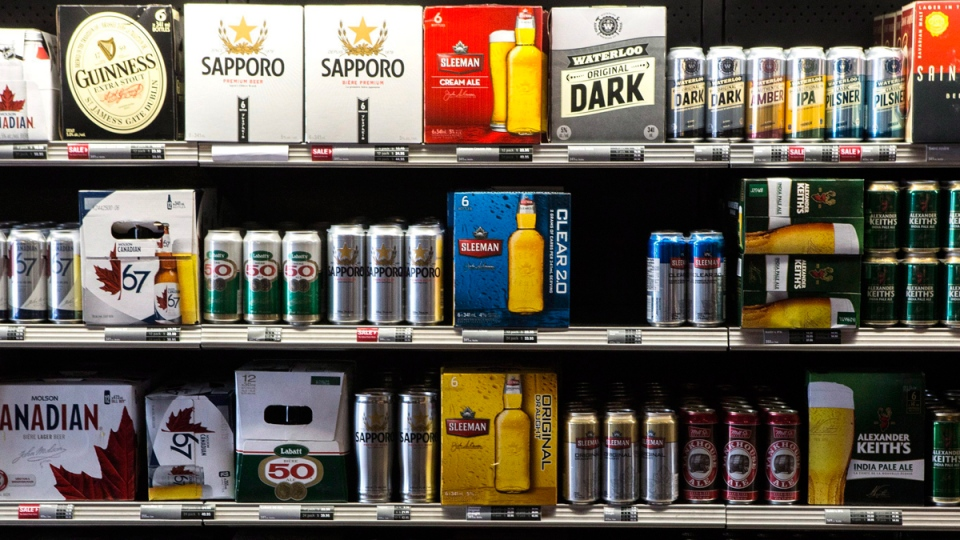 A Toronto beer store is pictured on Thursday, April 16, 2015.(Chris Young / THE CANADIAN PRESS)