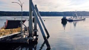 buckley bay cable ferry