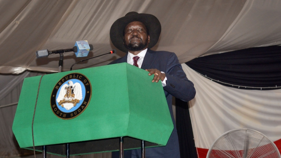 South Sudan president signs peace deal with rebels | CTV News